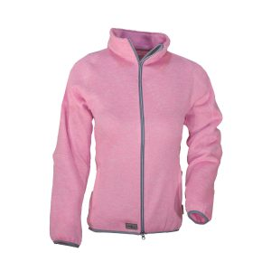 Helga Damen Strickfleece Jacke